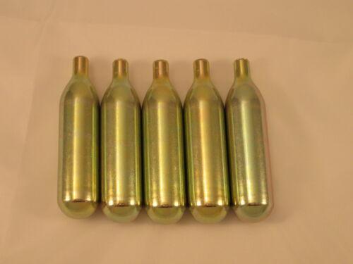 CO2 16g non threaded cartridge 5 pack C02 keg charger soda      16gCO2N5 5