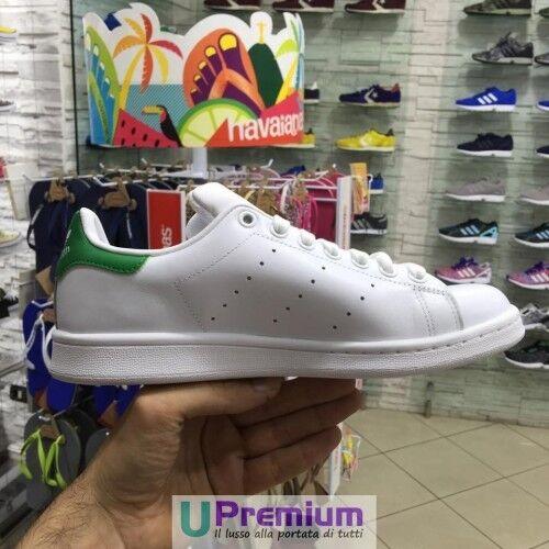 Adidas Stan Smith 2018 Originals weiß Retro grün 2018 Smith Schuhe Original 100% ITA cd489d