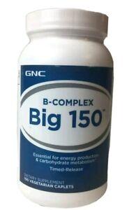 Gnc Bcomplex Big 150 Vegetarian Caplets