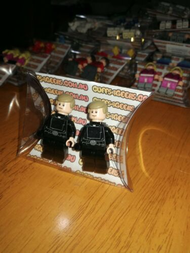 Star Wars Genuine LEGO Minifig Cufflink Sets Big Bang Theory Simpsons more
