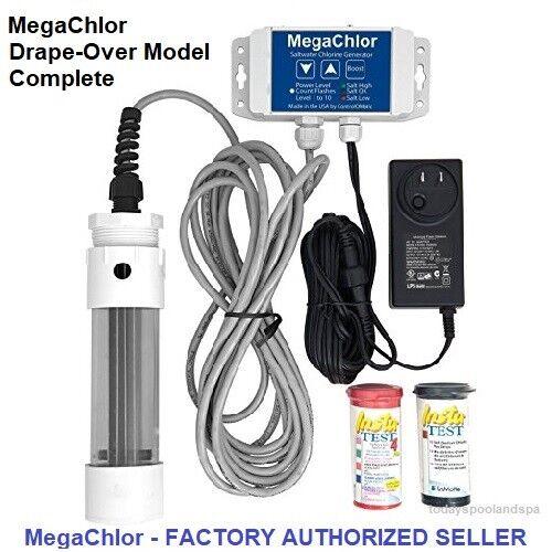 MegaChlor Salt Chlorine Generator Drape Over For Swim Spas / Spas / Pools