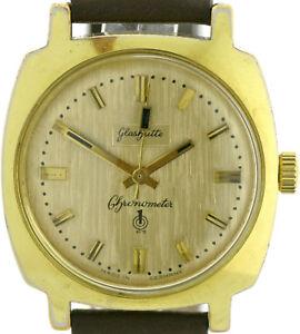 GUB Glashütte Chronometer Güteuhr Kal.70.3 Q1 Qualität Legendäre Herrenuhr 70er