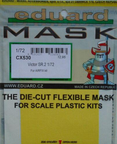 Eduard 1//72 CX530 Canopy Masque pour les Airfix Victor SR 2 Kit