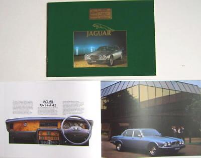 VERSION 84 U.S SALES CATALOG 1984 JAGUAR XJ-S ORIGINAL BROCHURE
