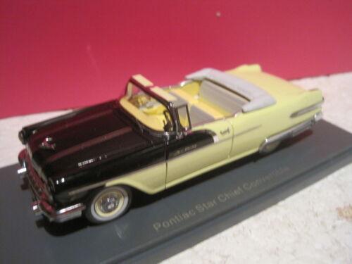 Superbe Pontiac Star Chief Convertible Neo Neuf Ech 1/43