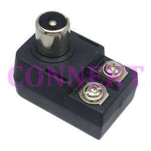 3pc-Outdoor-antenna-matching-transformer-balun-75-300ohm-IEC-TV-PAL-Male-adapter