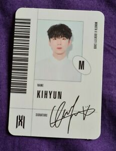 Kpop-MONSTA-X-Mini-ALBUM-Follow-Find-you-Official-photocard-id-Kihyun-version