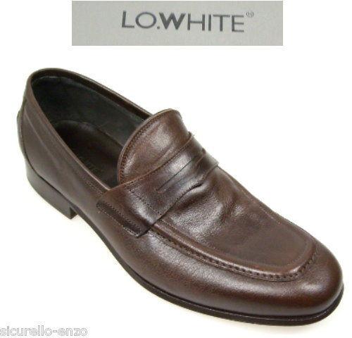 Nouveau-hommes Business chaussures-pantoufles loblanc chaussures Gr  6 - 41