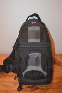 Large Lowepro Slingshot 100 Aw Dslr Sling Backpack Digital Camera Bag Ebay