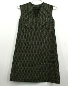 Piazza Sempione Womens Italian Size 40 Starry Night Sleeveless Cocktail Dress S