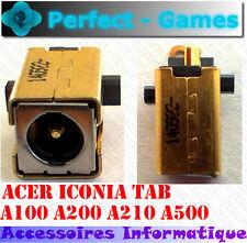 Connecteur alimentation DC power Jack cable Acer Iconia Tab A100 A200 A500 A210