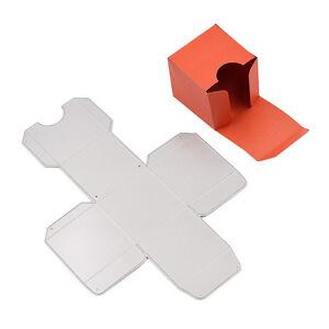 square gift box cutting dies die cutter stencil template diy making