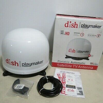 Winegard White Company PL-8000 Dish Playmaker Portable Antenna