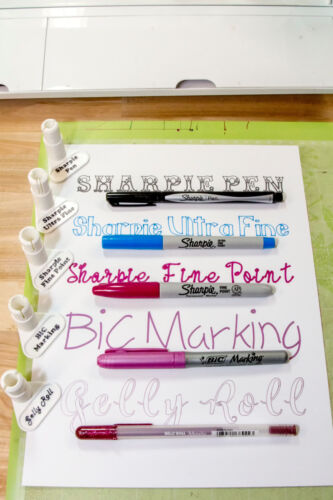 Kid Sharp Favorites Cricut  Explore//Maker Pen Adapter Set