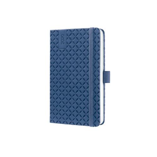 A5 Buchkalender Sigel Wochenkalender J0101 Jolie 2020 Indigo Blue Hardcover ca