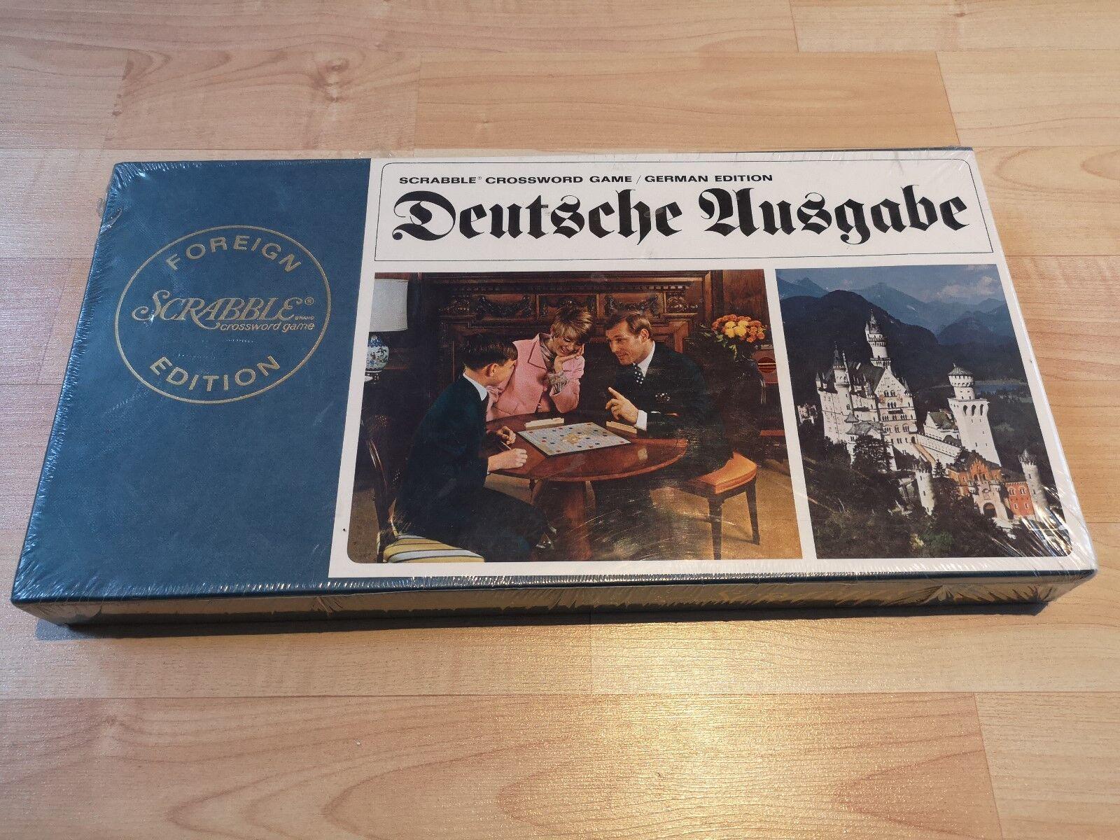 Brettspiel Spiel Scrabble crossword game deutsche Ausgabe unbespielt OVP  1556