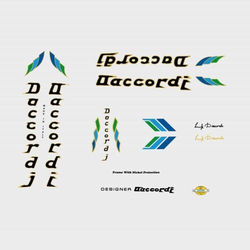Daccordi Bicicletta Decalcomanie Adesivi n.7