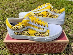 Custom Sunflower Old Skool Vans (Men