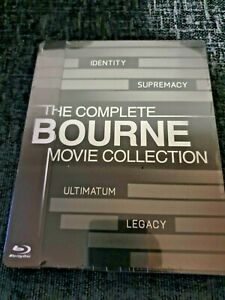 The-Bourne-Quadrilogy-1-4-Collection-Blu-Ray-1-3rd-Slip-Exclusive-Steelbook-New