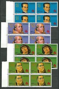 ESPANA-1991-EDIFIIL-3137-3140-EN-BLOQUES-DE-4