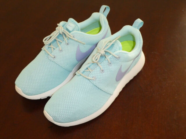 new concept 46aab e1e14 Nike Roshe Run Rosherun womens shoes sneakers new 511882 402 glacier ice