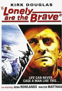 NEW-DVD-034-Lonely-Are-The-Brave-034-Kirk-Douglas-Gena-Rowlands