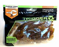 Trigger X 4 Flappin' Craw Ultrabite Aggression Choose Quantity, Color & Size