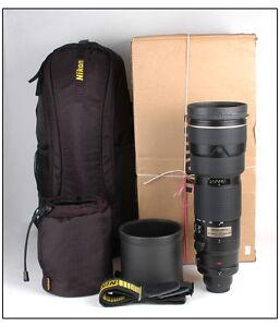 Nikon AF-S NIKKOR 200-500mm 1:5,6E ED VR - Calumet Photographic | 300x257