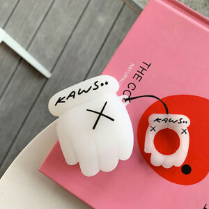 New KAWS AirPod Case Nike Supreme Jordan Yeezy Off White Hand BFF