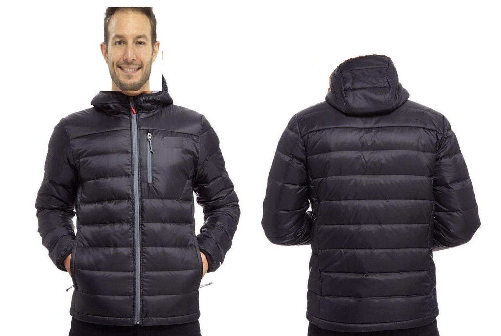 Manteau à capuchon en puffa d hiver pour homme SterlingSports®, isolant ouatiné, imperméable
