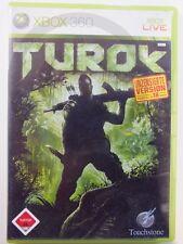 !!! XBOX 360 SPIEL Turok USK18, gebraucht aber GUT !!!