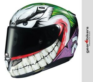 HJC RPHA 11 The Joker Official DC Motorcycle Helmet Race Batman Villains RPHA11