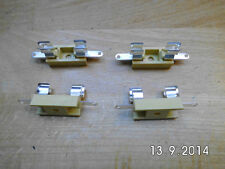 10 Sicherungshalter für Feinsicherungen 5 x 20 mm löt und steckbar