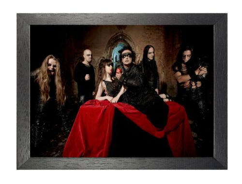 Cradle Of Filth 4 English Extreme Gothic Metal Band Star Music Legends Poster
