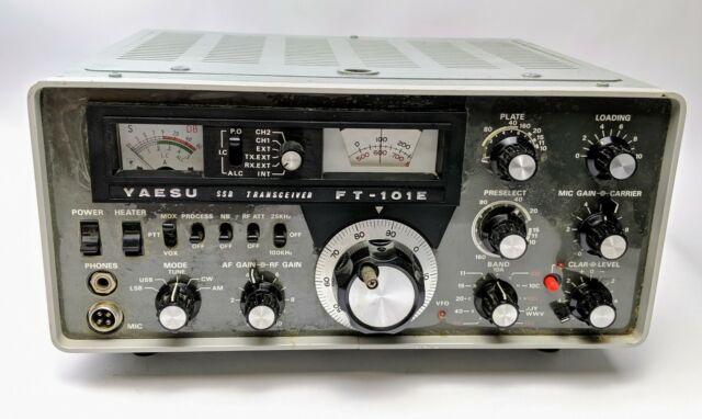 Yaesu Ft 101e Hf 100w Transceiver Super Mega Rare Extremely For Sale Online Ebay