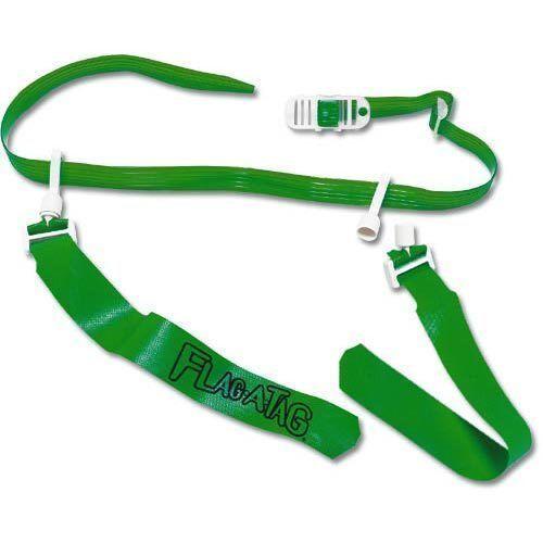 "SET of 12 KELLY GREEN Flag-a-Tag Sonic Boom Flag Football Belt Set 42/"" Waist"