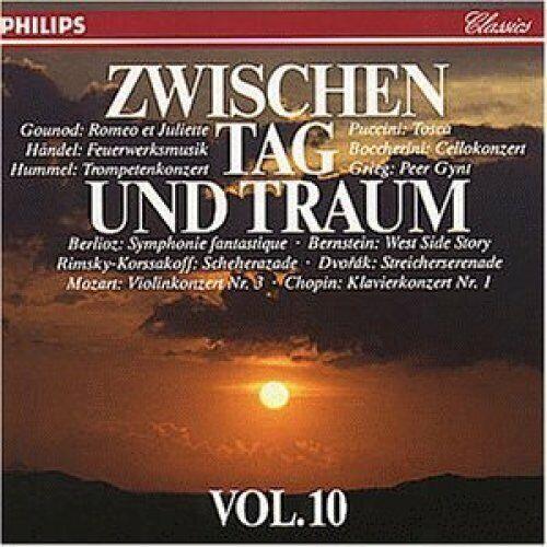 Zwischen Tag und Traum (Philips) [CD] 10:Dvorak, Mozart, Händel, Puccini..