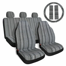 10pcs Baja Saddle Blanket Car Seat Cover Set With Steering Wheel Cover