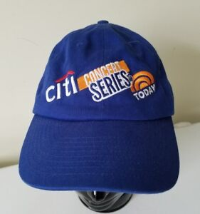 Details about NBC Today Show Citi Concert Series Television TV Embroidered  Baseball Cap Hat