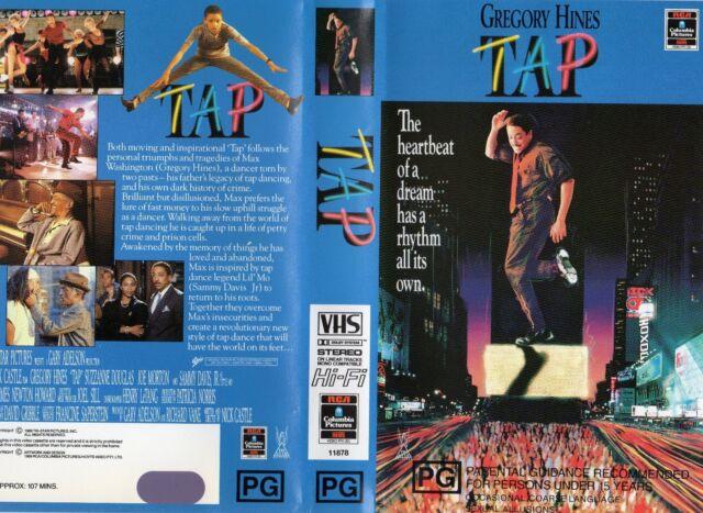 TAP -Gregory Hines &Sammy DavisJr -VHS-PAL-NEW-Never played!-Original Oz release