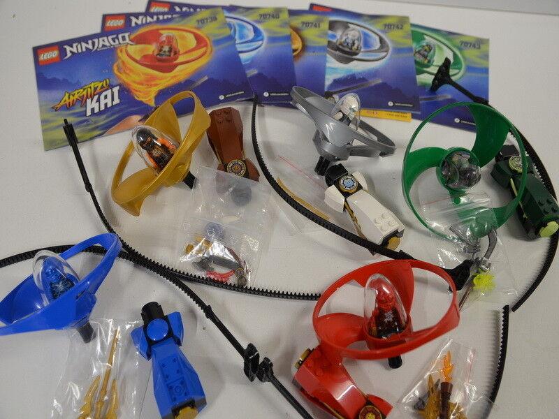 Lego Ninjago 70739 70740 70741 70742 70743 Airjitzu Flieger mit BA