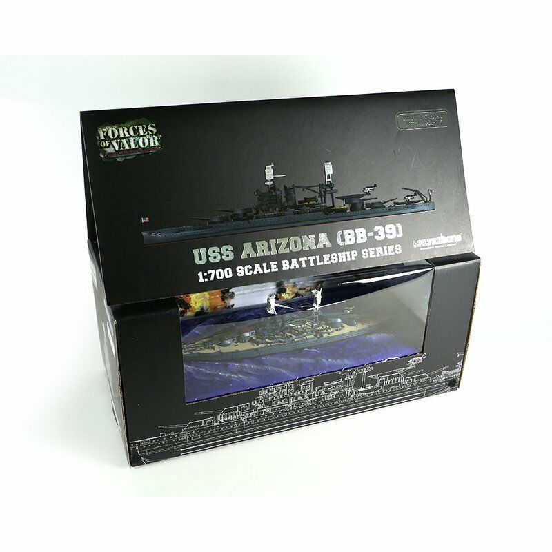 Forces of Valor - 861008 A - 1 700 USS Arizona (bb-39) - NEUF