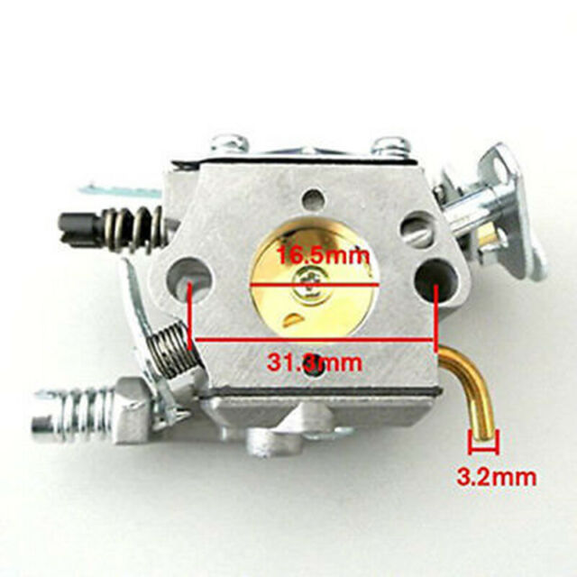 Carburetor Kit For Husqvarna 36 41 136137 141 142 Chainsaw WT-834//WT-834A Models