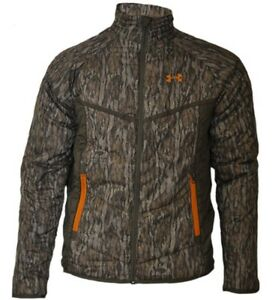 cc24beea47 Details about Under Armour Mens Bottomland Camo Armourloft Hunting Jacket  And Shirt Size-L