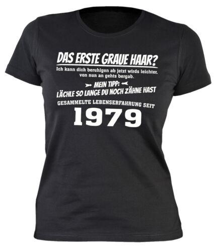 40 Geburtstag Damenshirt 1979 Shirt Geb 40 Frauen T-Shirt  Jahrgang 1979