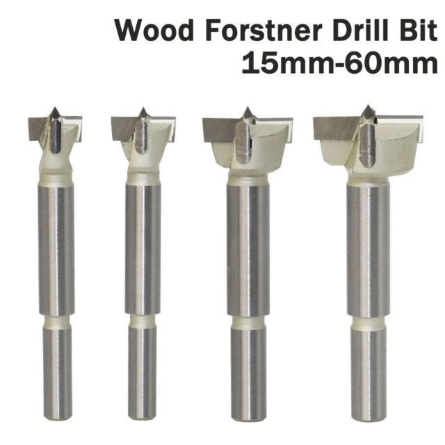 55mm Forstner Woodworking Boring Wood Hole Saw Cutter Drill Bit 15 14mm