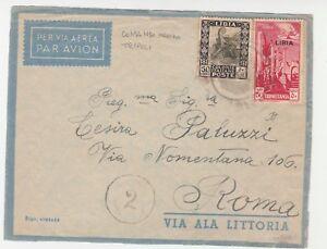 STORIA-POSTALE-1937-REGNO-LIBIA-50-50-COMANDO-MARINA-TRIPOLI-C-3571