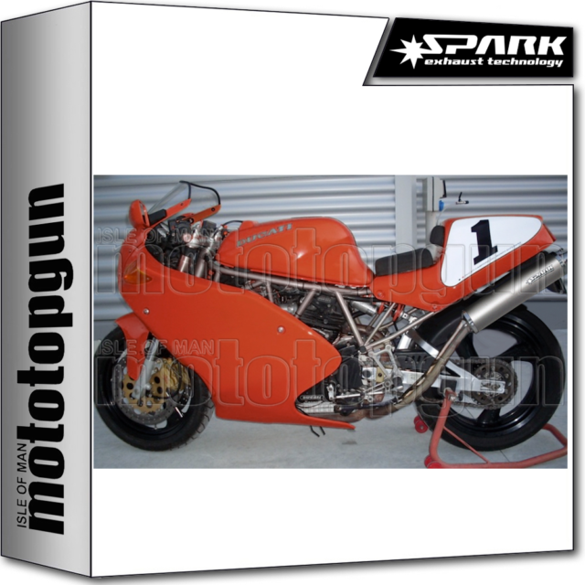 SPARK 2 ESCAPES ALTI ROUND RACING INOX DUCATI 900 SS 1997 97