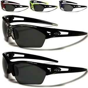 NEU X-Loop Sonnenbrillen polarisiert schwarz Damen Herren Jungen gewickelt 2qUPKMSVA