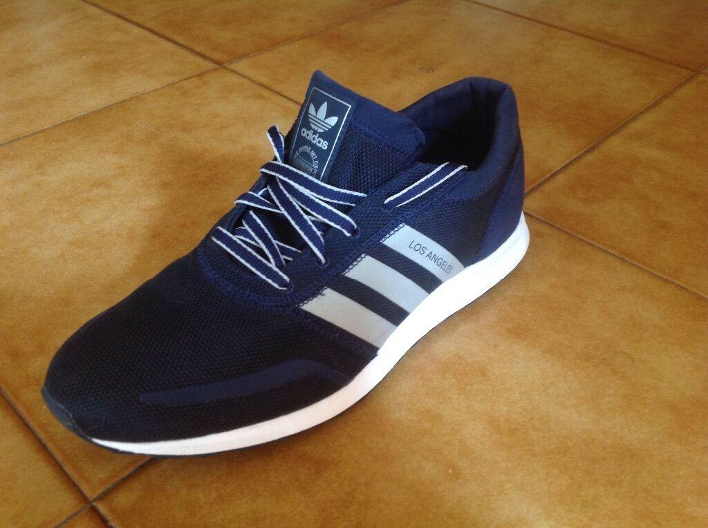 Scarpe Adidas Los Angeles blu argento S75990